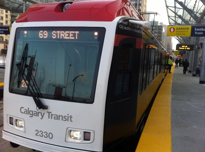 Calgary's $1.4-billion West LRT opens to great fanfare
